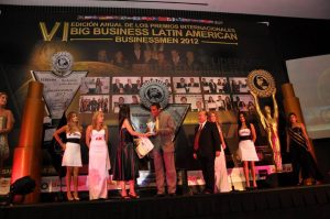 PREMIACION BIG BUSINESS LATIN AMERICAN BUSINESSMEN 2012