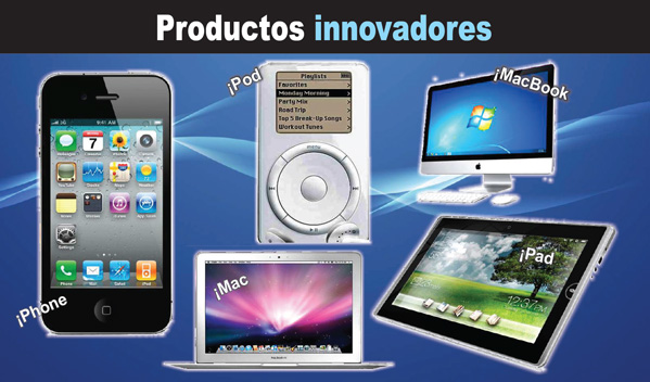 PRODUCTOS INNOVADORES APPLE