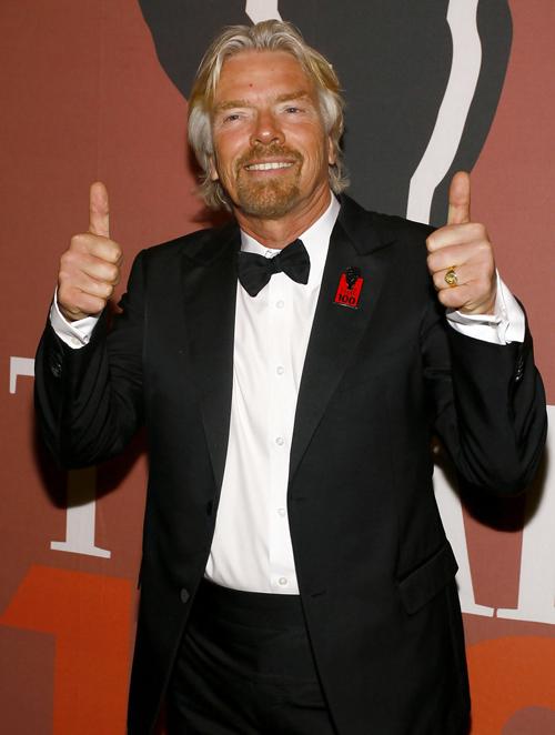 Richard Branson y Arnold Encomendero