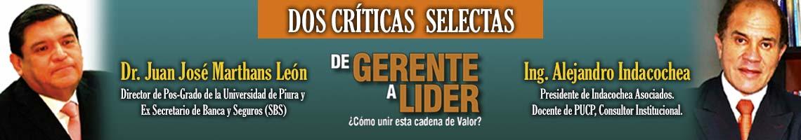 Dos Críticas Selectas - Libro Gerente a Líder
