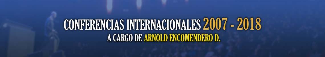 Conferencias Internacionales a Cargo del Dr. Arnold Encomendero